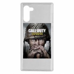 Чохол для Samsung Note 10 Call of Duty WW2 poster