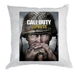 Подушка Call of Duty WW2 poster