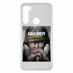 Чохол для Xiaomi Redmi Note 8 Call of Duty WW2 poster