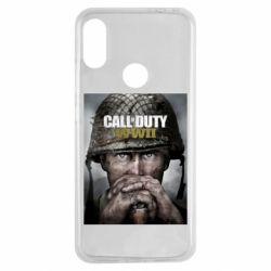 Чохол для Xiaomi Redmi Note 7 Call of Duty WW2 poster