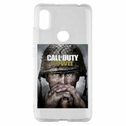 Чохол для Xiaomi Redmi S2 Call of Duty WW2 poster