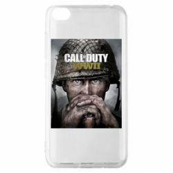 Чохол для Xiaomi Redmi Go Call of Duty WW2 poster