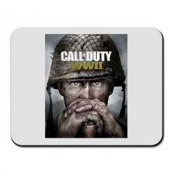 Килимок для миші Call of Duty WW2 poster