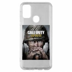 Чохол для Samsung M30s Call of Duty WW2 poster