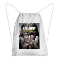 Рюкзак-мішок Call of Duty WW2 poster