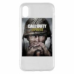 Чохол для iPhone X/Xs Call of Duty WW2 poster