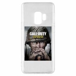 Чохол для Samsung S9 Call of Duty WW2 poster