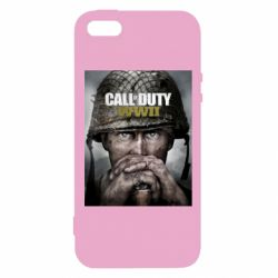 Чохол для iphone 5/5S/SE Call of Duty WW2 poster