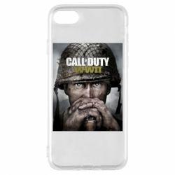 Чохол для iPhone 7 Call of Duty WW2 poster