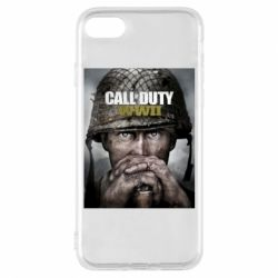 Чохол для iPhone 8 Call of Duty WW2 poster
