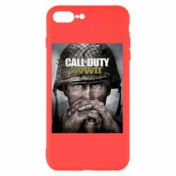 Чохол для iPhone 8 Plus Call of Duty WW2 poster