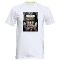 Купить Мужская спортивная футболка Call of Duty WW2 poster, FatLine