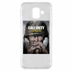 Чохол для Samsung A6 2018 Call of Duty WW2 poster