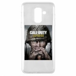 Чохол для Samsung A6+ 2018 Call of Duty WW2 poster