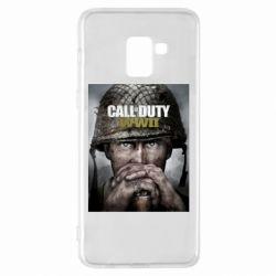 Чохол для Samsung A8+ 2018 Call of Duty WW2 poster