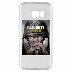 Чохол для Samsung S7 Call of Duty WW2 poster