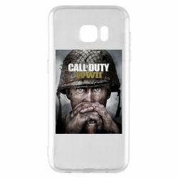 Чохол для Samsung S7 EDGE Call of Duty WW2 poster
