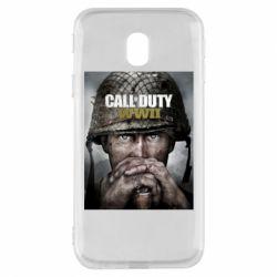 Чохол для Samsung J3 2017 Call of Duty WW2 poster