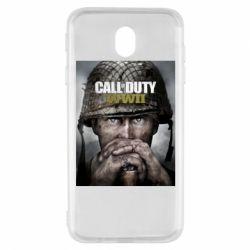 Чохол для Samsung J7 2017 Call of Duty WW2 poster