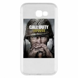 Чохол для Samsung A7 2017 Call of Duty WW2 poster