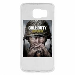 Чохол для Samsung S6 Call of Duty WW2 poster