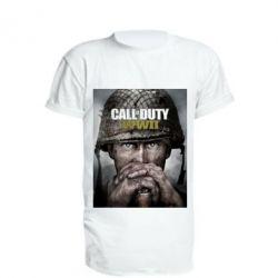 Подовжена футболка Call of Duty WW2 poster