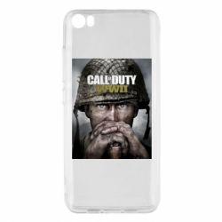Чохол для Xiaomi Mi5/Mi5 Pro Call of Duty WW2 poster