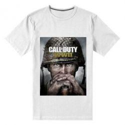 Чоловіча стрейчева футболка Call of Duty WW2 poster