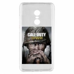 Чохол для Xiaomi Redmi Note 4 Call of Duty WW2 poster