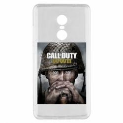Чохол для Xiaomi Redmi Note 4x Call of Duty WW2 poster