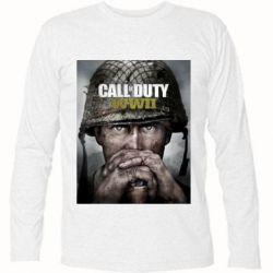 Футболка з довгим рукавом Call of Duty WW2 poster