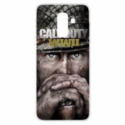 Чехол для Samsung A6+ 2018 Call of Duty WWII