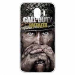 Чехол для Samsung J4 Call of Duty WWII