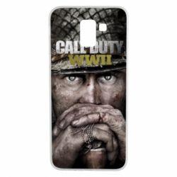 Чехол для Samsung J6 Call of Duty WWII