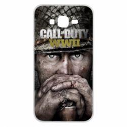 Чехол для Samsung J7 2015 Call of Duty WWII