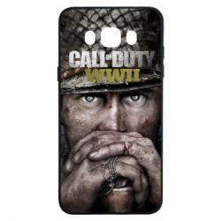 Чехол для Samsung J7 2016 Call of Duty WWII