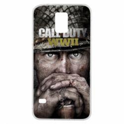 Чехол для Samsung S5 Call of Duty WWII