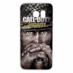 Чехол для Samsung S6 EDGE Call of Duty WWII