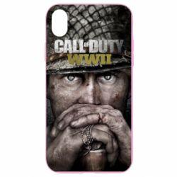 Чехол для iPhone XR Call of Duty WWII
