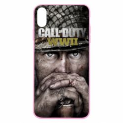 Чехол для iPhone Xs Max Call of Duty WWII