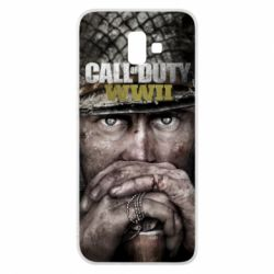 Чехол для Samsung J6 Plus 2018 Call of Duty WWII