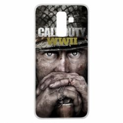 Чехол для Samsung J8 2018 Call of Duty WWII