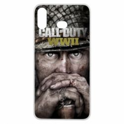 Чехол для Samsung A6s Call of Duty WWII