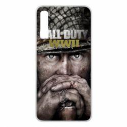 Чехол для Samsung A7 2018 Call of Duty WWII