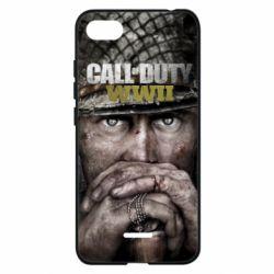 Чехол для Xiaomi Redmi 6A Call of Duty WWII