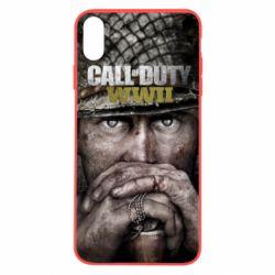 Чехол для iPhone X/Xs Call of Duty WWII
