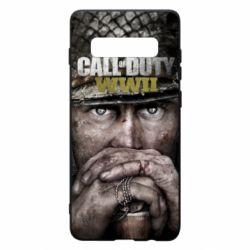 Чехол для Samsung S10+ Call of Duty WWII