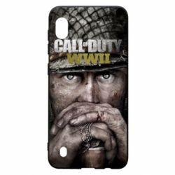 Чехол для Samsung A10 Call of Duty WWII