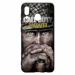 Чехол для Samsung A20 Call of Duty WWII