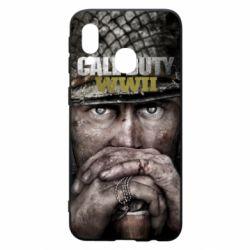 Чехол для Samsung A40 Call of Duty WWII
